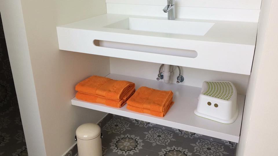 vakantiehuis handdoek