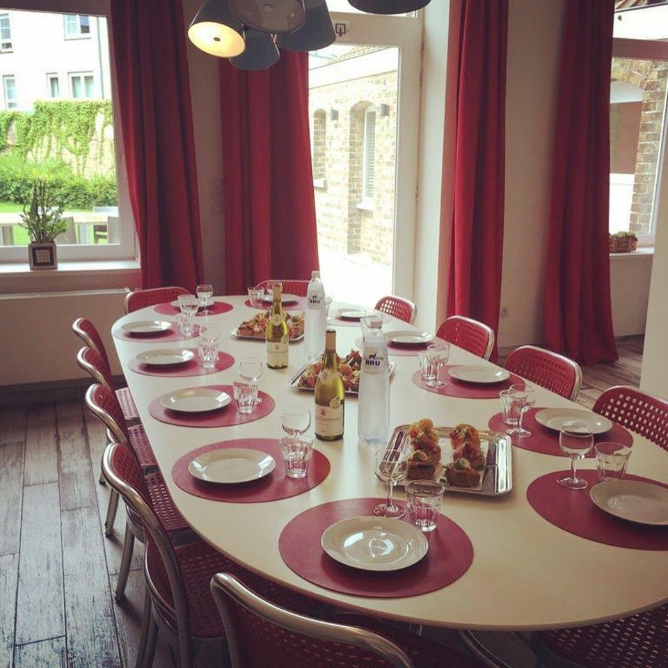 vakantiewoning eettafel