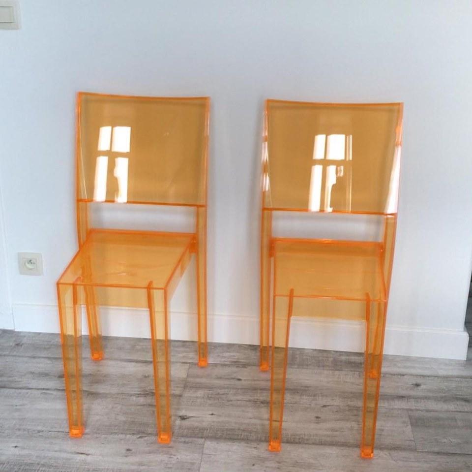 vakantiewoning stoelen kartell